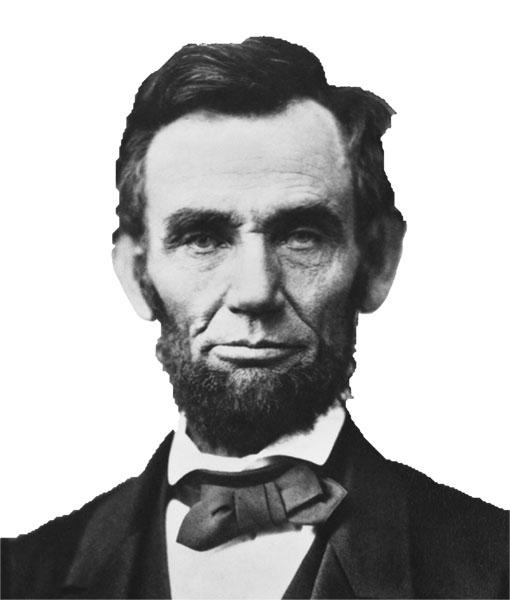 Abraham Lincoln verläuft sich nicht